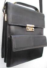 -Superbe    sacoche   cuir  TBEG   bag vintage