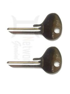 DATSUN  IGNITION TWIN KEY BLANK SET - x 2 Key Blanks