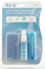 TV and Smart Media Screen Cleaner Kit 35 Ml With Microfibre Cloth and Brush IBRA