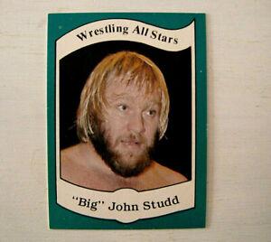 1983 Big John Studd #22 Series A Wrestling All Stars Card Very Nice!!
