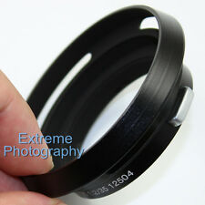 Black Metal Lens Hood for Leica 12504 Summilux Summicron M 35mm 1:1.4 1:2 Lens