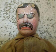 Rare Schoenhut Teddy Roosevelt Doll from the Teddy in Africa Series circa 1910