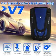 V7 360° Car 16 Band GPS Speed Police Safe Radar Detector Voice Alert Laser Warn