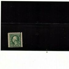George Washington 1 Cent Stamp  misperforation  (mb12