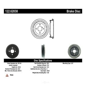 Two Years Warranty Inroble For 2000 Saturn SL1 Base Premium Quality Rear Brake Drums and Drum Brake Shoes