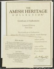 30036 Autumn Leaves Original CoA & Papers | Amish Heritage Collection