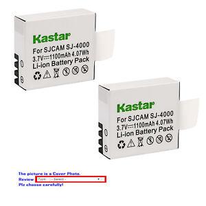 Kastar Battery Charger SJCAM GeekPro ABLEGRID Waterproof Sport HD Action Camera