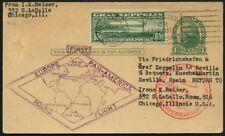 Zeppelin USA 1930 Südamerikafahrt EF 65 C. Friedrichshafen Sevilla Si 64A / 446