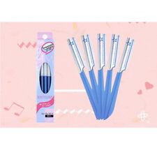 "Japan ""KAI""  Shaver beauty guard Eyebrow Safety Hair Shaving Removal Razor~5 PCS"