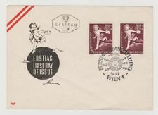 Austrian First Day Cover Stamps