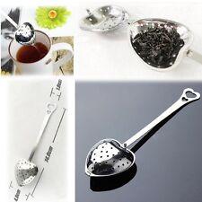 Boule à Thé en forme de Coeur - Infuseur des amoureux Cuillère Inox Tea Infuser