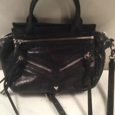 BOTKIER SMALL TRIGGER PURSE BAG CROSS BODY BLACK LEATHER