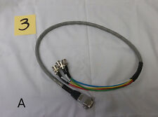 HI RES Belden Joseph Electronics HD 5 Channel BNC Male to VGA Male Cable 3 FT
