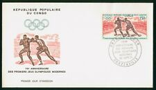 Mayfairstamps Congo 1971 Olympics Boxing First Day Cover wwp1127
