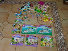 SOUPER LOT FRIENDS Lego 3315 LA VILLA D'OLIVIA+41015+41035+41085+41089