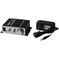 Digital Hi-Fi Audio Mini Power Stereo Speakers Amplifier with Power Supply