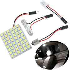 48 SMD 5050 LED Light Lamp Car Interior White Panel T10 Festoon Dome BA9S 12V HS