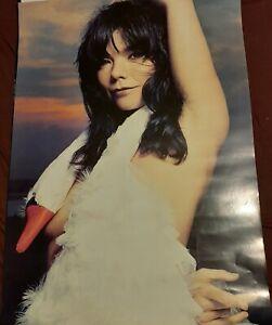 """BJORK """"Swan Dress"""" for Vespertine Album RARE UK PROMO POSTER 70x50cms"""