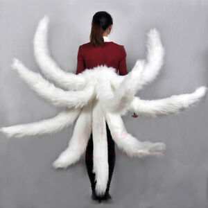 """39"""" LOL Ahri the Nine-Tailed Tails Cosplay Prop Gift"""