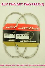 "STAINLESS STEEL MTB GEAR INNERCABLE 230cm 90"" CLAUD BUTLER SUIT SHIMANO SHIFTERS"