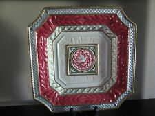 New listing Fitz and Floyd Gregorian vintage plate,