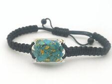 Turquoise Orgonite(2.4cm x 1.8cm) Bracelet-Wealth,Love,Meditation-talisman