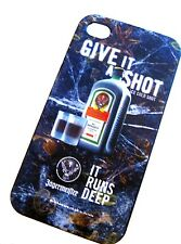 JAGERMEISTER iPhone 4/4S Cover Mobile Phone Cell/Shot/Case/Apple/Runs/Deep/NEW