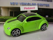 2016 VOLKSWAGEN Exclusive VW 2012 CUSTOM BEETLE☆Sublime Green☆LOOSE Hot Wheels