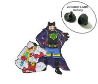 Bluntman And Chronic 420 Adult Cartoon Metal Hat Backpack Flair Vest Enamel Pin