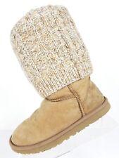 UGG Australia Tularosa Route sheepskin boots size 5 with leggings