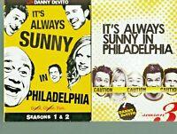 Its Always Sunny in Philadelphia: Seasons 1-2-3 (DVD, Box Set, 2009, 3-Disc Set)