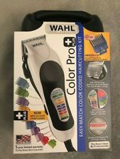 Wahl Color Pro Hair Clipper Kit with Colored Guide Combs 79300-400T