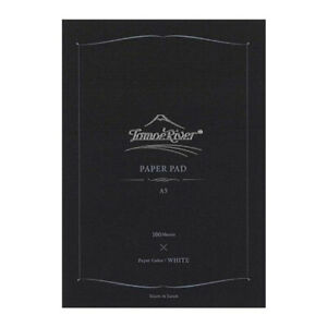 Tomoe River - A5 Blank Notepad - 52gsm - White