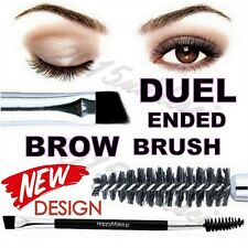 Eyebrow Double Ended Duo Angled Eyeliner Eyeshadow Brow Mascara Brush Makeup