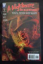 A NIGHTMARE ON ELM STREET COMIC BOOK ISSUE #1 WILDSTORM COMICS 2007 HALLOWEEN