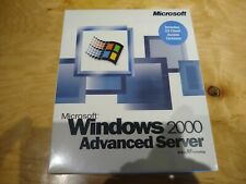 NEW Windows 2000 Advanced Server Up to 25 CAL ENGLISH C10-00010 - 100% Charity