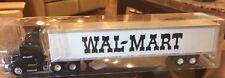 Original truck 1:87 Wal-Mart die cast 53' Dry Van Dual Axle vintage NEW