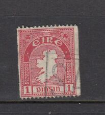 Ireland 1d coil stamp 15 x imperf used SG 112 c