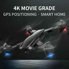 Optical-Flow Foldable GPS Drone With 5G WiFi FPV 4K Dual HD Camera Quadcopter