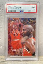 1995-96 FLAIR Michael Jordan #15 PSA 9 MINT Bulls