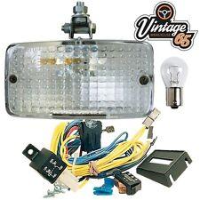 Car Van Camper Import E Approved Rectangle Rear Mount Reverse Lamp Light Kit