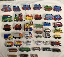 Lot Of 45 Toy Trains Thomas Chuggington Fisher Price Mickey Mouse Donald Disney