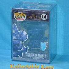 Fantasia - Sorcerer Mickey Blue Artist Series 80th Anniversary Pop Vinyl With P