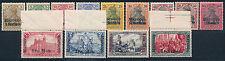 DP Marokko Reichspost + Aufdruck 1900** Michel 7-19 Befund Attest (S14445)
