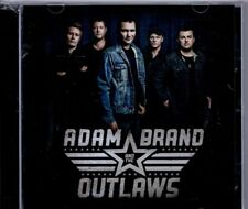 ADAM BRAND AND THE OUTLAWS - CD- LIKE NEW -PLAYED ONCE ONLY