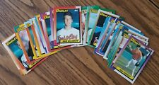 1990 Topps Baltimore Orioles Team Set with Traded (36 cards)
