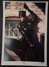 Catwoman Stanley Artgerm Lau Signed Art Print