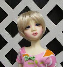 "Doll Wig Monique ""Tara"" size 7/8** in Pale Blonde, Modacrylic (Runs Large)"