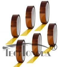 6rolls 10mm X 30m 100ft No Residue Heat Tape For Sublimation And Heat Transfer
