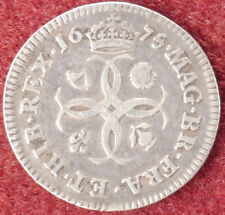 GB Fourpence 1675 King Charles II (D1412)